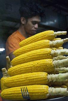 Kinabalu, Kota Kinabalu, Corn, Steam, Food, Sabah