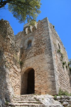 Ruin, Fortress, Castle, Building, Stones, Architecture