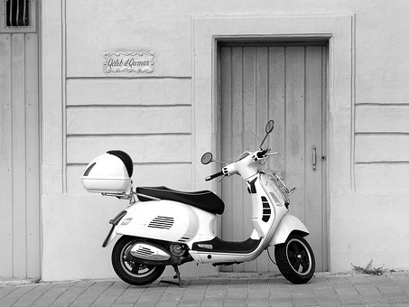 Vespa, Scooter, Italian, Cool, Style, Motorcycle