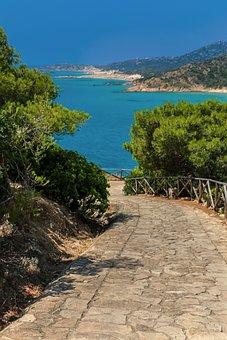 Chia, Sardinia, Sea, The Sky, Path, The Chia Sardinia
