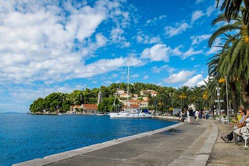 Cavtat, Croatia, Adriatic, Sea, Europe, Mediterranean