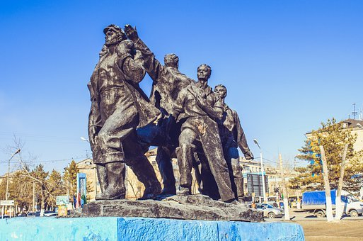 Builders, The First Builders, Monument, Kazakhstan