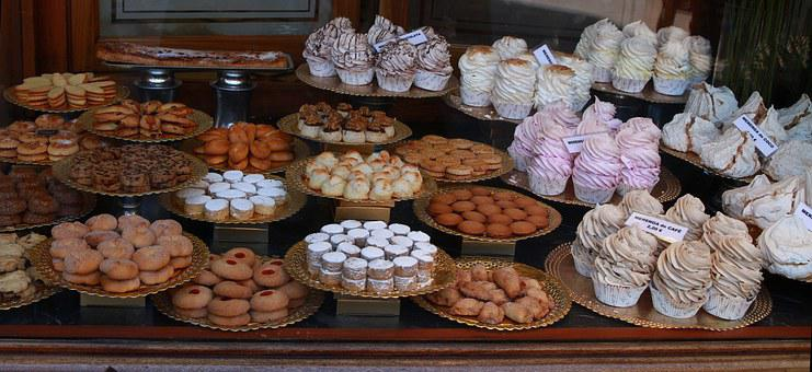 Sweets, Bakery, Shop Window, Bakery Window, Cake
