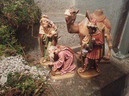 Nativity Scene, Christian, Jesus, Advent