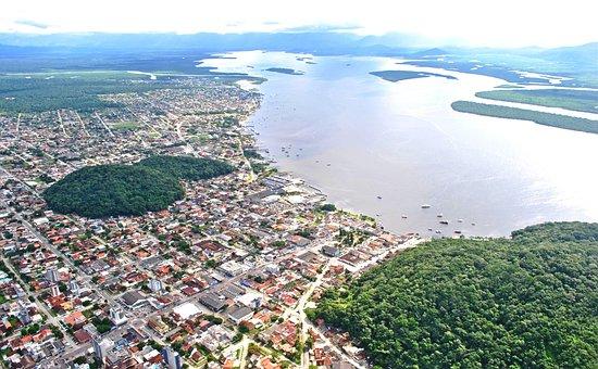 Vista, Bay, Guaratuba, Lake, View Ait, City