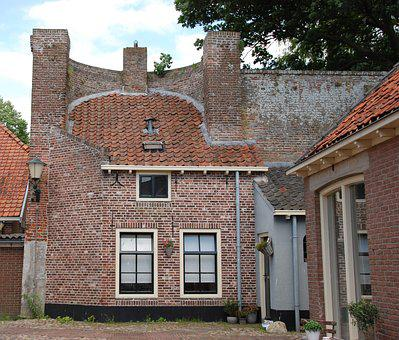 House, Wall, City Wall, Elburg, Architecture, History