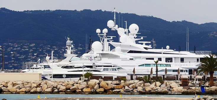 Yachts, Constructions, Cannes, Boat Harbour, Marina