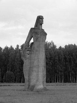 Latvia, Riga, Commemorate, Genocide