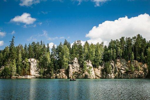 Adrspach-teplice Rocks, Czech Republic, Horizon, Wild