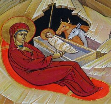 Russia, Icon, Image, Church, Faith, Orthodox, Christmas