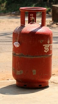 Gas Cylinder, Indian, Hot