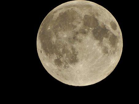 Full Moon, Kazakhstan, Shymkent