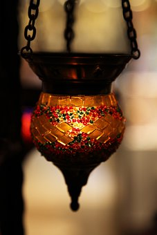 Art, Asian, Light, Bright, Candle, Colored, Colorful