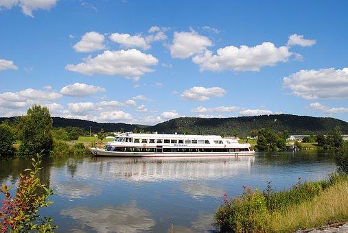 Ship, Boat Cruise, Altmühl, Main Danube Canal