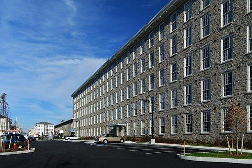 Fall River, Massachusetts, Building, Mill, Business