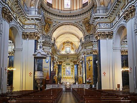 Cathedral, Nice, Italian Baroque, Places Of Interest