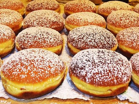 Donuts, Cakes, Bakery, Sweets, Food, Pastries