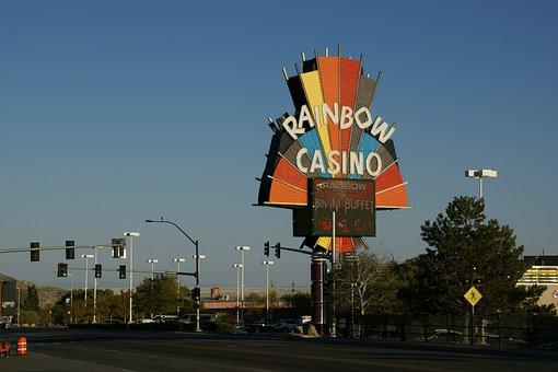 Rainbow Casino, Casino, Billboard, Wendover, Nevada