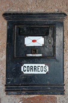 Old Mailbox Post, Vintage, Retro