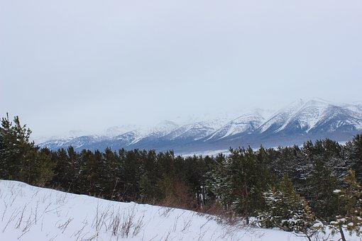 Kazakhstan, Ridder, Winter, Landscape, Mountains