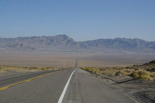 Wendover, Route, Nevada, Street, Road, Highway, Freeway