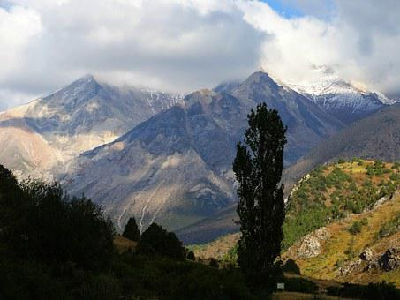 Peak, Sairam, Shymkent, Mountains, Landscape