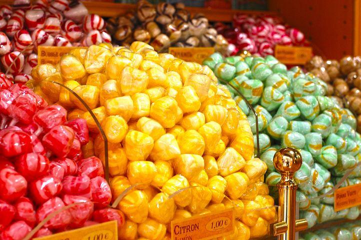 Shop, Candy, Color, Colors, Sweet