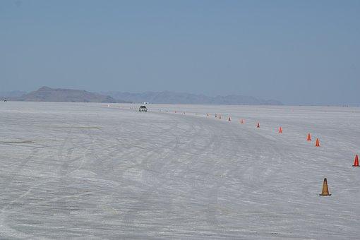 Bonneville, Wendover, Utah, Salt Flats, Usa, Speedway