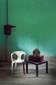 Chairs, Abandoned, Room, Furniture, Retro, Seat, Nobody