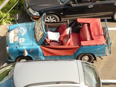 Trabi, Satellite, Auto, Vehicle, Ddr, Eastern Bloc