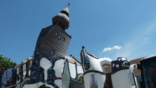 Abensberg, Building, Kuchelbauer, Brewery, Tower, Beer
