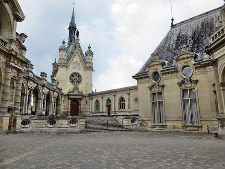 Chantilly, Castle, Great Conde, Château De Chantilly
