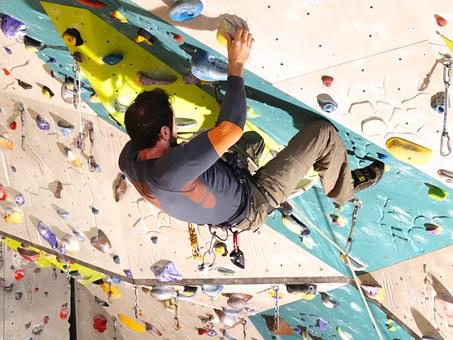 Climb, Climbing Rope, Climbing Shoes, Rope