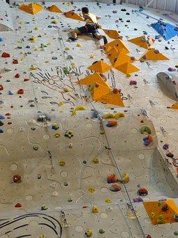 Climbing Wall, Climb, Climbing Rope, Climbing Shoes