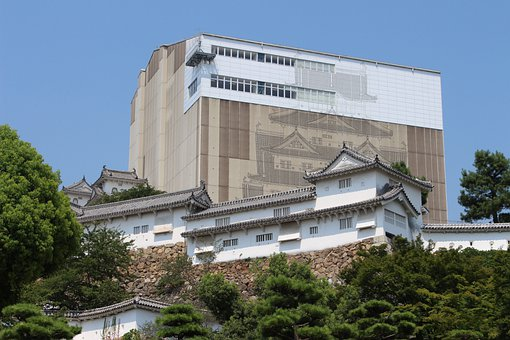 Himeji Castle, During The Construction, Appearance