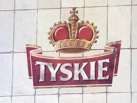 Tyskie, Tychy, Emblem, Sign, Logo, Beer, Brewery