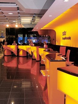 Front Desk, Airport, Munich, Germany, Car Rental, Sixt