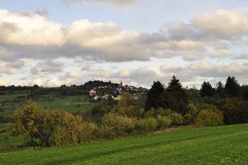 Enz, Autumn, Autumn Colours, Autumn Mood, Germany