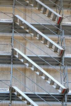 Stairs, Rise, Upgrade, Go Up, Upward, Scaffold