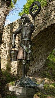 Krodo, Statue, Harz, Harzburg, Bad Harzburg