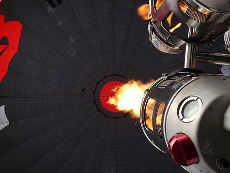 Hot Air Balloon, Burner, Fire, Hot, Air, Heat, Upgrade