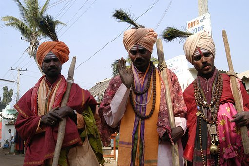 Holy Men, India, Blessings, Indian, Religion, Holy