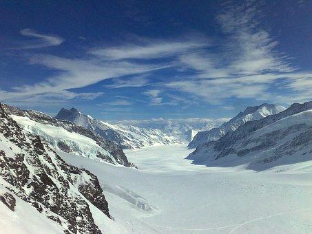 Aletsch Glacier The Konkordiaplatz, Jungfrau Region