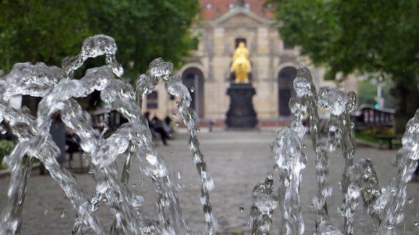 Golden, Reiter, Frederick The Strong, Dresden, Monument