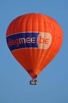 Hot Air Balloon, Balloon, Air, Orange