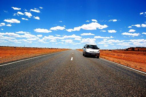 Outback, Australia, Bush, Road, Auto, Car Rental, Pkw