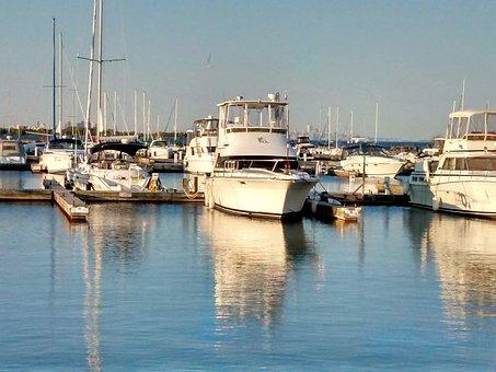 Toronto, Port Credit, Lakeshore, Yacht, Boat