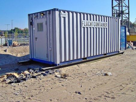 Site, Central Station, Aligned Container, Protection