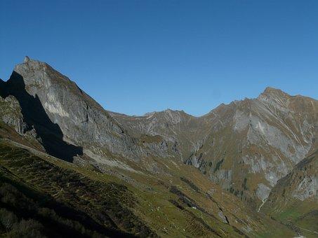 Small Höfats, Redhead, Mountain, Allgäu, Allgäu Alps