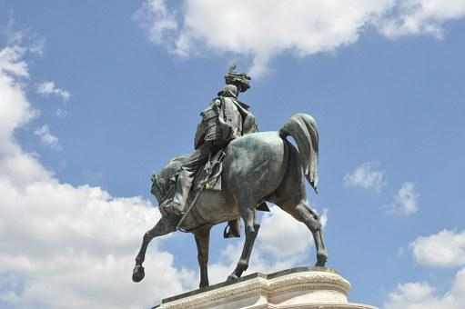Reiter, Soldier, Honor, Fame, Horse, Ross, Statue
